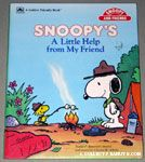 Snoopy A Little Help from my Friend