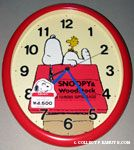 Peanuts & Snoopy Citizen Clocks