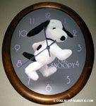 Stuffed Snoopy photo 'Club Snoopy' Wall Clock