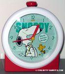 Snoopy & Woodstock laughing Alarm Clock