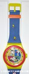 Snoopy, Lucy and Charlie Brown Watch Wall Clock