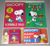 Peanuts & Snoopy Kids' Activity & Coloring Sets