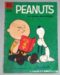 Charlie Brown reading