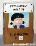Lucy Doctor's Booth Cookie Jar