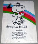 Happiness is a Peanuts Card or Gift