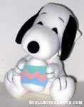 Snoopy holding Easter Egg Plush