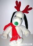 Snoopy as reindeer Plush