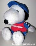 Snoopy Racecar Driver Large Plush