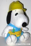 Snoopy construction worker Plush