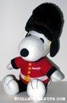 Snoopy British Beefeater Guard Plush