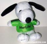 Snoopy Soccer Player Plush