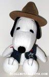 Snoopy Sheriff Plush