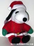 Peanuts Christmas Whitman's Plush Dolls