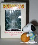 Snoopy with Basketball Figurine