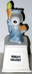 Snoopy Statue of Liberty 'World's Greatest' Ceramic Trophy