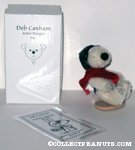 Deb Canham Mohair Flying Ace Snoopy