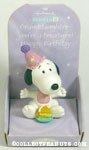 Snoopy with cake 'Granddaughter' Figurine