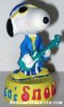 Snoopy playing guitar '1960's' Figurine