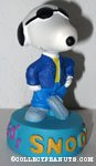 Snoopy wearing suit '1950's' Figurine