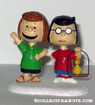 'Marcie and Patty's Pets' Figurine