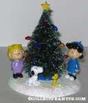 'O' Christmas Tree' Figurine