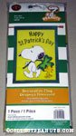Snoopy & Woodstock with clover 'Happy St. Patrick's Day' Flag