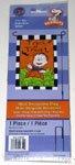 Linus in pumpkin patch 'Trick or Treat' Mini Flag