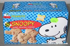 Snoopy Honey Graham Cookies