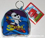 Snoopy surfing Candy Purse