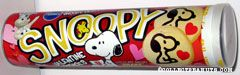 Snoopy Valentine Cookies Container
