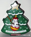 Snoopy in Christmas Ball Ornament