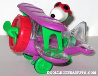 Flying Ace in Purple Bi-plane Candy Container