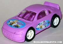 Peanuts purple Easter car Candy Container