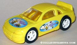 Peanuts yellow Easter car Candy Container