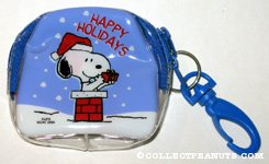 Santa Snoopy in Chimney Candy Purse