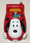 Snoopy cell phone Candy Dispenser