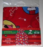 Peanuts Gang ornaments Santa Sack Gift Bag