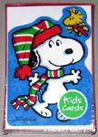 Snoopy & Woodstock 'Kid Card' Christmas Cards