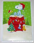 Snoopy & Woodstock Musical Christmas Card