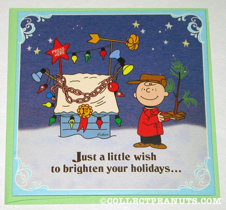 Peanuts Christmas Cards