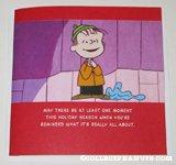 Linus speech Christmas Card