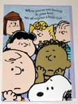 Peanuts Gang Get Well Greeting Card