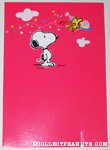 Snoopy & Woodstock with cake Birthday Greeting Card