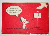 Snoopy Holding Letter by Mailbox