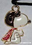 Snoopy as Flying Ace Necklace