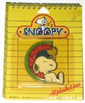 Snoopy & Woodstock sitting with rainbow Pin