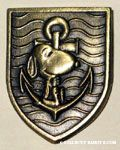 Snoopy with anchor crest Pin