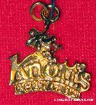 Cowboy Snoopy Knott's Berry Farm gold-tone Pendant