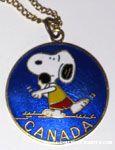 Snoopy Shotput 'Canada' Medallion
