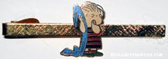 Linus with Blanket Cloisonne Tie Clip